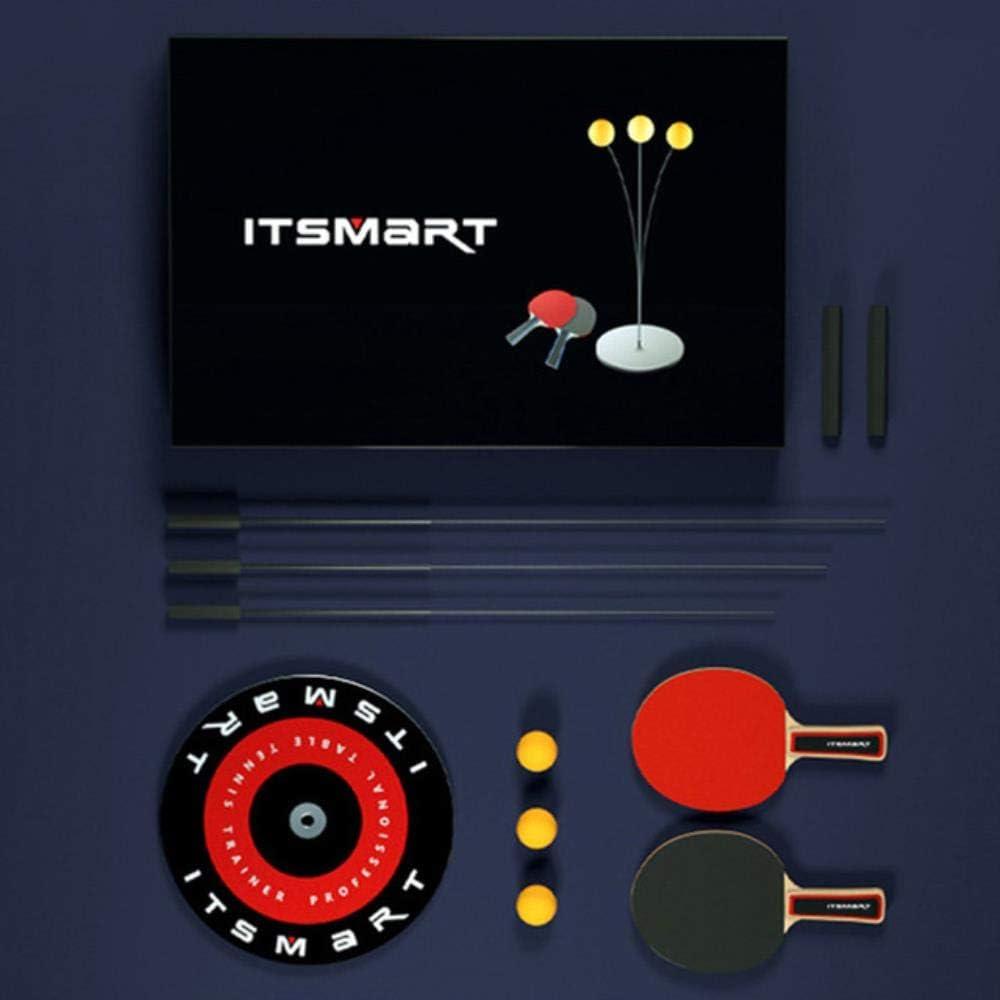 Ksde Mini juegos de tenis de mesa pelotas de tenis de mesa elásticas suaves para entrenamiento de un solo jugador