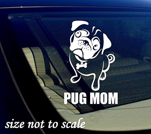 pug window decal - 3