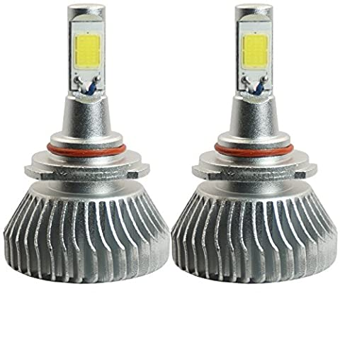 PROMAX 9006 LED headlight bulb conversion kit (1 pair fanless bulb, ultrawhite, also fit HB4 9012) - 2000 Camaro Headlights