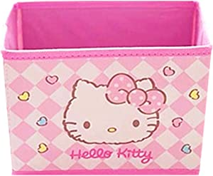 Kerr's Choice Collapsible Storage Bin Kawaii Storage Box Hello Kitty Foldable Baskets   Hello Kitty Office Desk Room Decoration Hello Kitty Gifts Accessories Sanrio Room Decor