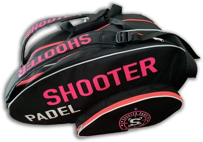 Shooter padel Paletero Fucsia y Negro
