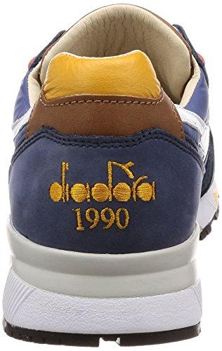 C7427 para Ebony ITA Heritage Azul N9000 H Diadora Hombre Sneakers Paja amarillo w0qUXg