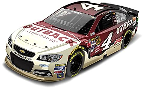 Lionel Racing CX45821OFKH Kevin Harvick # 4 Outback Steakhouse 2015 Chevy SS 1:24 Scale ARC HOTO Official NASCAR Diecast Car