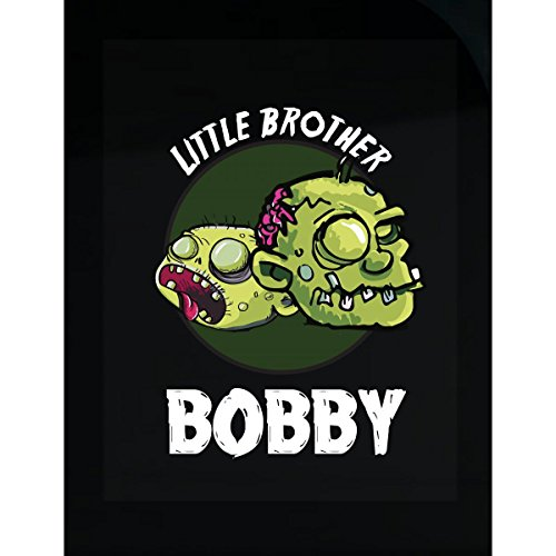 Prints Express Halloween Costume Bobby Little Brother Funny Boys Personalized Gift - Sticker