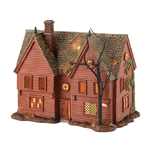Department 56 New England Village Corwin Lit House, 5.9 inch