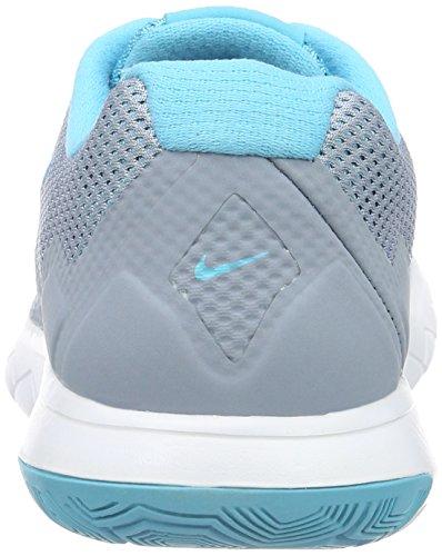 Nike Femmes Flex Experience Rn 4 Chaussure De Course Bleu Gris / Gamma Bleu / Blanc