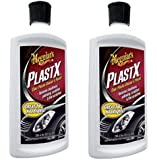 Meguiars G12310 PlastX Clear Plastic Cleaner and Polish, eIkGvt 2 Pack(10 ounce)