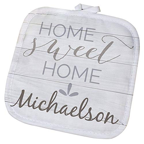 GiftsForYouNow Home Sweet Home Personalized Pot Holder
