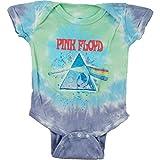 Pink Floyd Baby Boys' Dark Side Oil Paint Bodysuit