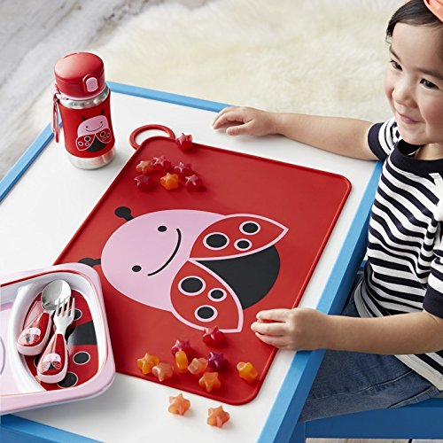 Skip Hop Zoo Fold and Go Silicone Placemat Butterfly