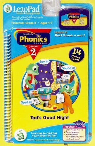 LeapPad Phonics Program Lesson 2: Short Vowels A and I: Tad'