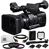 Sony PXW-X180 Full HD XDCAM Handheld Camcorder + 3PC Multi-Coated Filter Kit (UV+CPL+FLD) + 36 PIN LED Video Light + 6FT HDMI Cable + Microfiber Cleaning Cloth