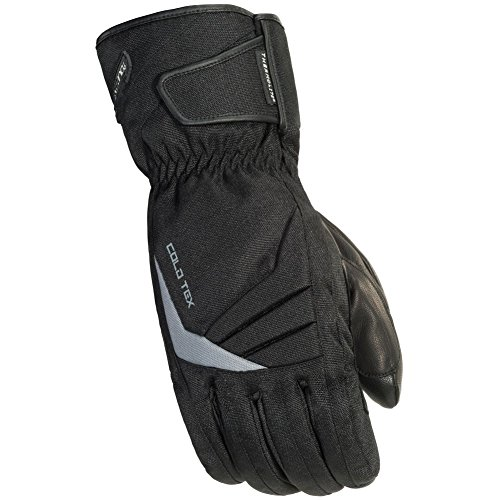 TourMaster Men's Cold-Tex 3.0 Motorcycle Gloves (Black, Small) ()