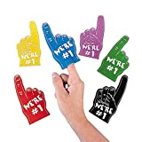 Foam Mini Fingers (1 dz) by Fun Express