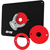 Amazon best sellers best router tables kreg molded router table insert plate blank for all routers keyboard keysfo Images