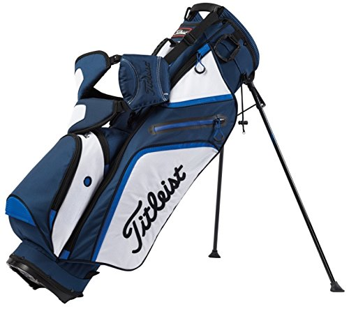 Titleist Ultra Light Weight Stand Bag, Navy/White/Royal by Titleist