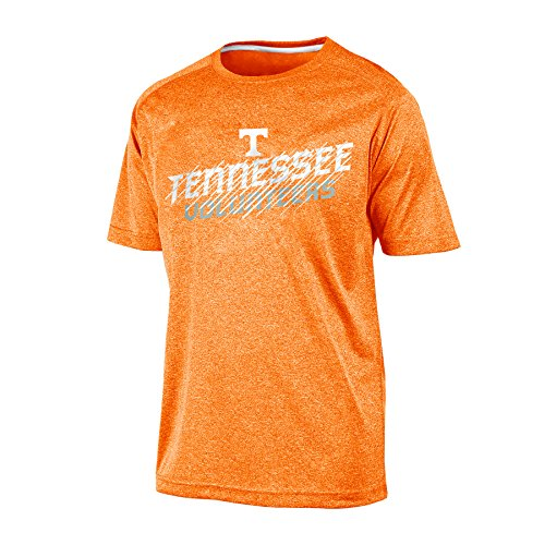 Champion NCAA Tennessee Volunteers Men's Short Sleeve Crew Neck RA Tee, XX-Large, Orange Heather