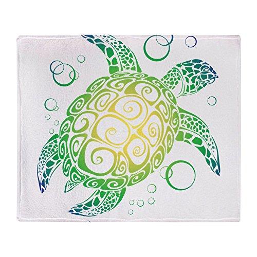 CafePress - Sea Turtle - Soft Fleece Throw Blanket, 50