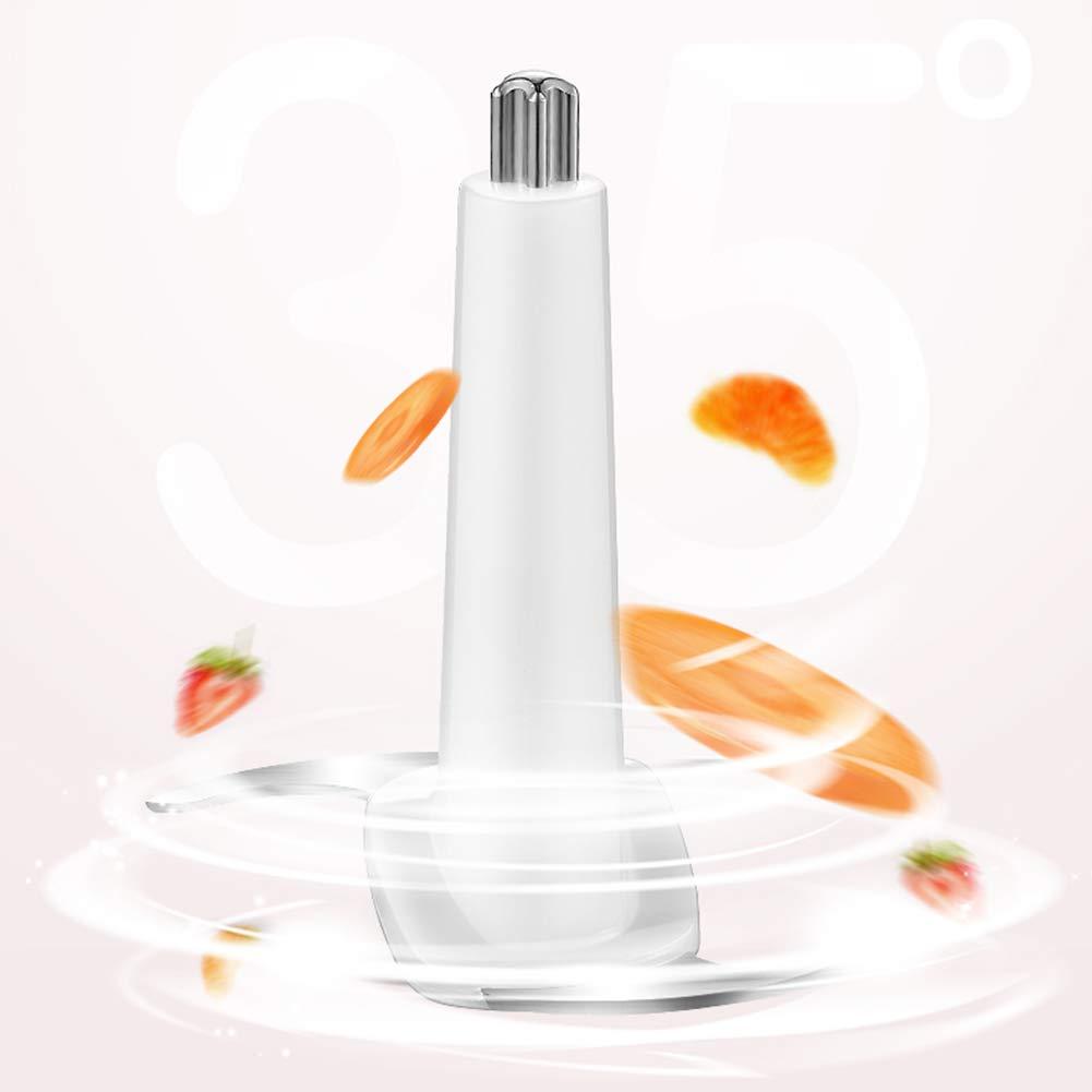 Meat grinder Mini Tritacarne Elettrico Integratore per Alimenti per Bambini per Carne Verdure Viola Patata Pasta di Riso Vetro Borosilicato in Acciaio Inox 304 Coltello 120w