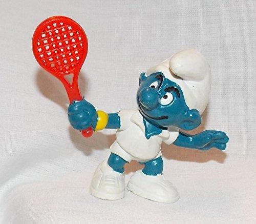 (1978 Vintage Smurf Tennis Star 2