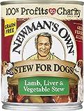 Newman'S Own 12Oz Premium Stews For Dogs Grain Fre...