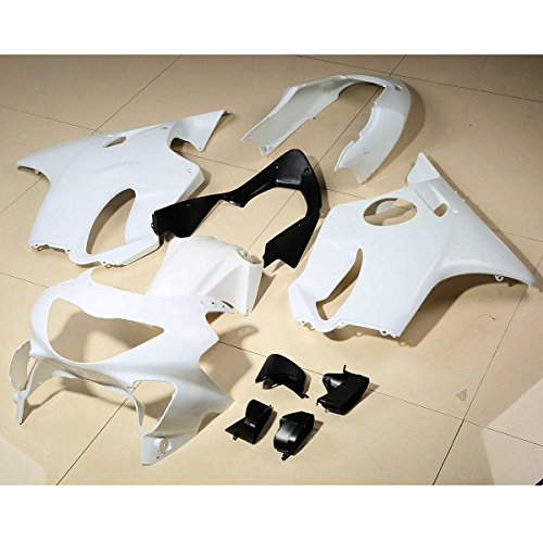 - XMT-MOTO ABS Fairing Bodywork Set For Honda CBR600 F4 CBR 600 1999-2000(Unpainted White,1 Set)