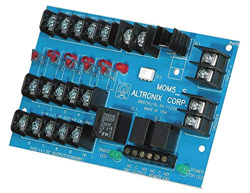 (Phenolic or Fiberglass Power Dist Module, 5 Outputs PTC with - Finish)