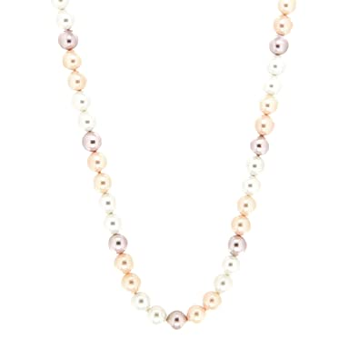 554f2d56c618 Sweet Deluxe 6548 de mujer Collar sitana Plata de Rose de Pearl ...