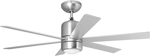 Orbegozo CP 50120 Ventilador de techo con luz y mando a distancia ...