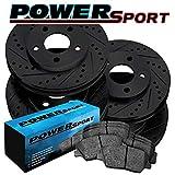 1996 camaro rotors - [FULL KIT]PowerSport Black Drilled Slotted Rotors and Ceramic Pads BBCC.62053.02