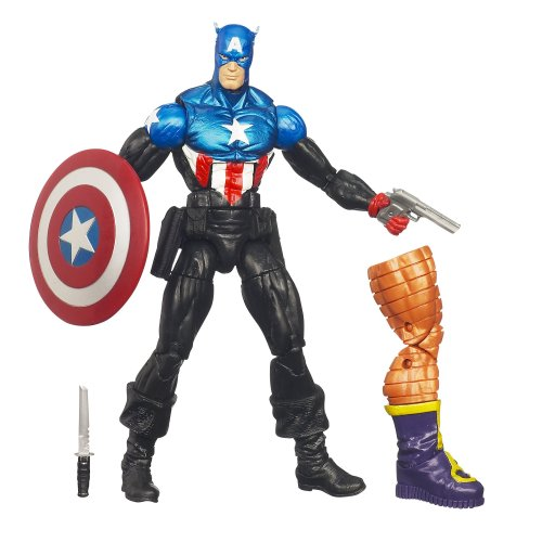Marvel Universe Captain America Figure 6 Inches