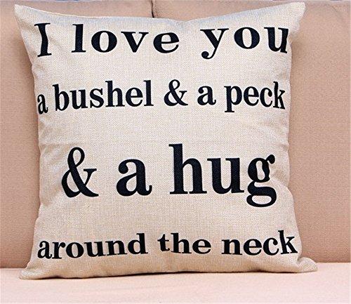 OliaDesign Love You Bushel Personalized