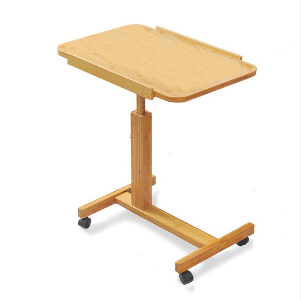 XW 折りたたみテーブル ポータブルベッドサイドラップトップテーブルファミリーシンプルなデスク折り畳み式モバイルプーリーテーブル (サイズ さいず : 70cm) B07F2WH3BZ70cm