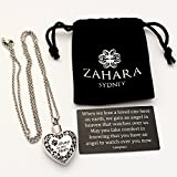 Zahara Pet Memorial Urn Necklace (20 Inches) with