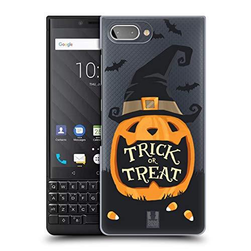 Head Case Designs Jack O' Lantern Halloween Characters Hard Back Case Compatible for BlackBerry KEY2