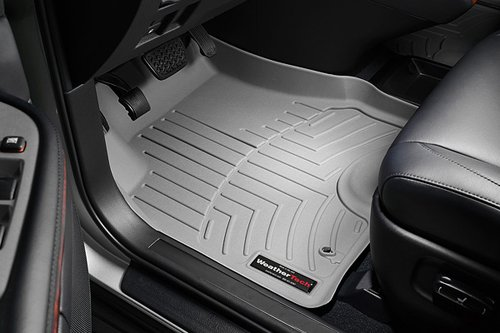 WeatherTech Custom Fit Front FloorLiner for Honda Odyssey, Grey (Floor Liner Odyssey compare prices)