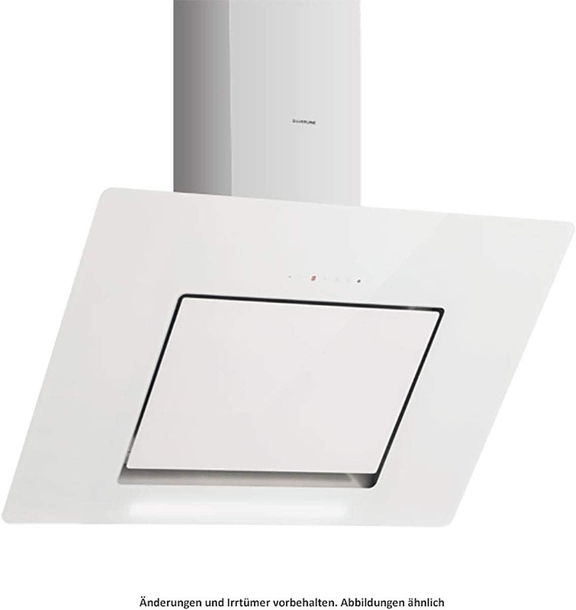 Silverline Andromeda Deluxe ANW 610 W - Cubierta de pared (acero inoxidable y cristal, 60 cm), color blanco: Amazon.es: Grandes electrodomésticos