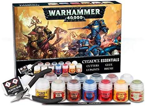 Games Workshop Warhammer 40.000 - Citadel Set Esencial: Amazon.es: Juguetes y juegos