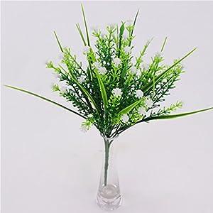 Fityle 4pcs Plastic Artificial Baby'S Breath Flower Arrangement Grass Gypsophila Flower Wedding Floral Decor 10