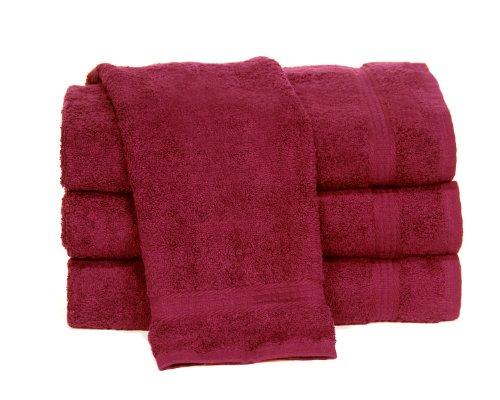 Towels by Doctor Joe Ambassador Cabernet (Dark Red) 16