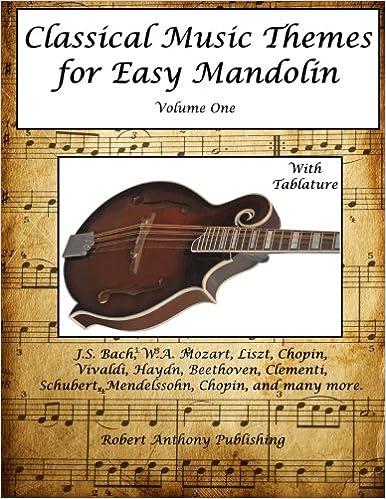 Amazon com: Classical Music Themes for Easy Mandolin Volume