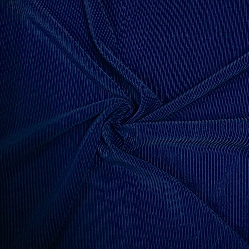 Pleated Polyester Knit Stretch Fabric 44/45