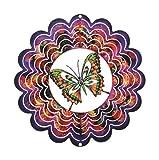 Next Innovations EKSBFLYPP Purple Butterfly Kaleidescope Eycatcher, Small