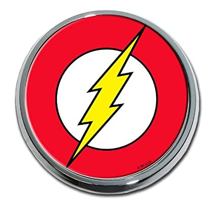 Amazoncom Flash Chrome Auto Emblem Logo Automotive