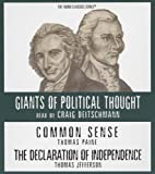 img - for Common Sense and the Declaration of Independence (Giants of Political Thought) book / textbook / text book