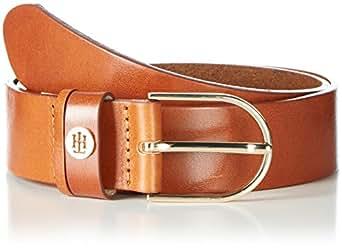 Tommy Hilfiger Classic Belt 3.5, Cinturón para Mujer, Rosa (Dark Tan), 75 cm (Talla del Fabricante: 75)