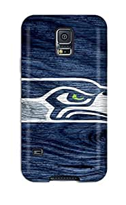 High Quality Shock Absorbing Case For Galaxy S5-seattleeahawks