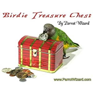 Birdie Treasure Chest - Parrot Bank Trick Prop 112