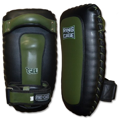 ULTRA LIGHT Ultimate GelTech Thai Pad for Muay Thai, MMA, Kickboxing by Ring to Cage