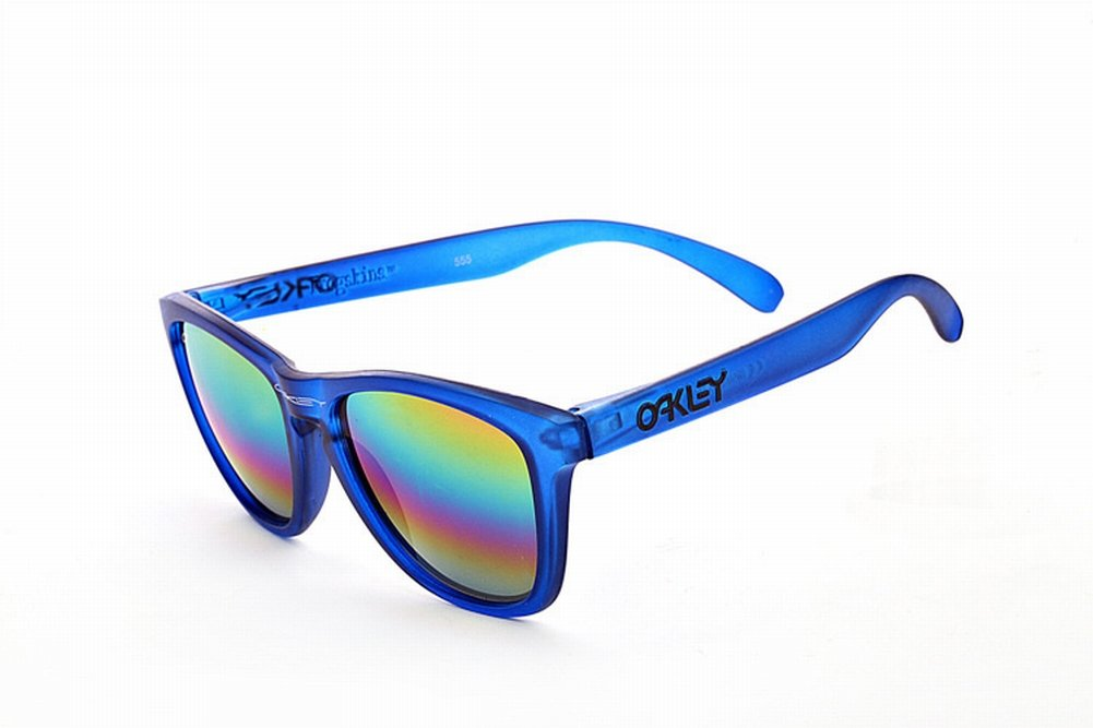 031ca087e4 Polarized Vintage Retro Horn Rimmed Style Oakley Sunglasses FROGSKINS  VALENTINO ROSSI SIGNATURE SERIES 24-325  Amazon.co.uk  Sports   Outdoors